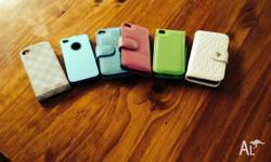 6 Iphone 4/4s phone cases All in great condition $15 or