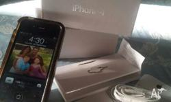 Hi, my black IPHONE 4 is like new- complete with box,