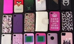 18 iphone 4 cases: $30 for all