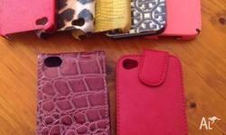 7 iPhone 4 covers assorted in great condition all for