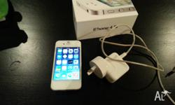 iPhone 4S in relatively good condition. Some scuff