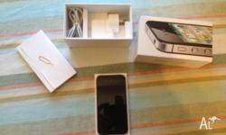 Selling My Iphone 4S 16GB Black,with box and