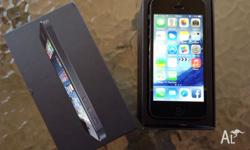 Iphone 5 16GB unlocked with box in MINT condition Phone
