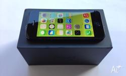 iPhone 5 64GB Black new components in box untouched