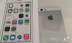 32gb iphone 5s white, unlocked from carrier, FMI off,