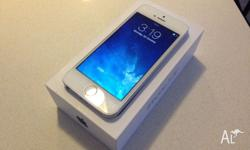 The iphone 5S 64GB Gold is in Excellent Condition, No