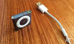 Up for sale is a USED iPod Shuffle 2gb 4th gen in