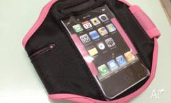 Up for sale is a Brand New Pink Ipod Touch ArmBand.