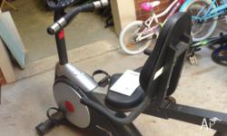 Ironman 200r recumbent exercise bike in great condition