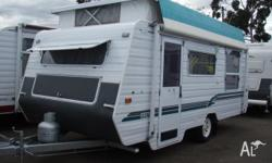 Immaculate condition 2001 Island Star pop top that is a