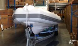 Beautiful 6.7m Rotto boat, virtually unused. Mercury