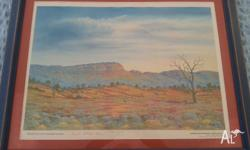 Signed print 963/4000 Kuntyj Country Everard Ranges.