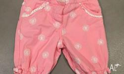 Gently loved Jack and Milly pink pants, size 00. Pick
