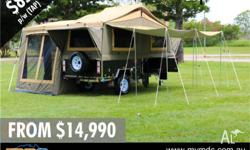 The Jackson FF (Forward Fold) Camper trailer is part of