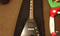 For sale my Jackson Randy Rhoads style V electric