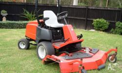 For sale I have a Jacobsen Turfcat 428D outfront mower