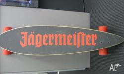 Jagermeister Long Board This board is perfect for your