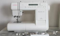 JANOME Memory Craft 4000: Computerised Sewing Machine
