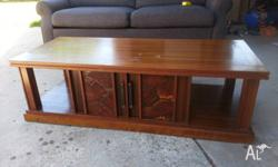 Reluctant sale of 1 Jarrah Coffee table along with 2