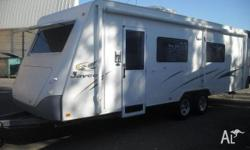 Jayco Caravan Sterling Slide Out 25x7'11, 2006,
