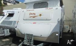 JAYCO DESTINY (ENSUITE) 17ft x 7ft 6, 2006, WHITE,