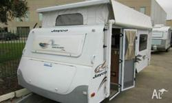 JAYCO DISCOVERY 15 FT, 2008, WHITE, Pop Top, Air