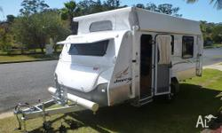 Jayco 16ft Outback Poptop 16-52-2 As new condition Roll