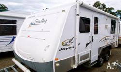 JAYCO DOVE 11ft x 7ft, 2005, CAMPER TRAILER, 3.35m x