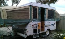 For sale: Jayco dove 2002 model, well maintained and in