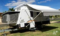 2013 Jayco expanda outback. This van is 12 months old