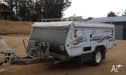 2000 Jayco Finch Outback (Off Road Model) in very good