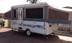 jayco flamingo in good condition. this model is the