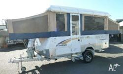 JAYCO FLAMINGO OUTBACK, 2009, WHITE, Camper Trailer,