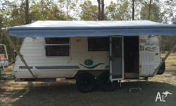 2004 Jayco Freedom Outback Tandem Poptop Always kept