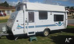 "Jayco Freedom Poptop caravan. 16' 6"". VERY GOOD"
