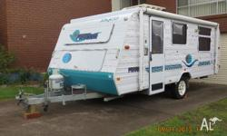 Jayco Freedom Poptop caravan, 2004 model, first used
