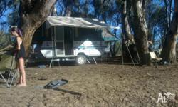 1999 Jayco. Hawk out back camper van Boat rack / Bike