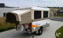 This Jayco Outback Hawk is in as new condition. It has