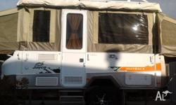 Jayco Hawk Outback DEC 2012 MODEL. 15'Alloy wheels with