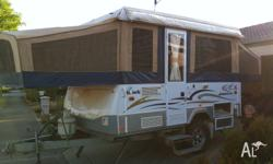 Jayco outback hawk 2008 with microwave,battery pack and
