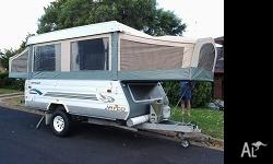 2004 jayco hawke outback. includes awning with full
