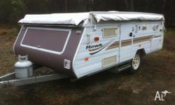 Jayco Pop Top 2006, Hawk. Sleeps 6. 3 way fridge,