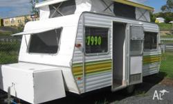 JAYCO Songbird 13', 1982, Great little pop top fitted