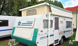 JAYCO STARCRAFT, 1997, 240v external power point, 4