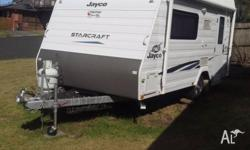 2011 Jayco starcraft 2 berth, single beds, pop top,