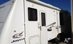 jayco sterling 25ft with bed slide out, club lounge,