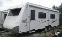 JAYCO STERLING (ENSUITE) 23ft 9 x 7ft 8, 2006, WHITE,