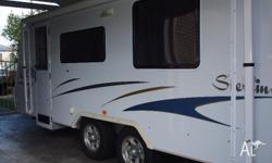 This is a Great Jayco Sterling Pop Top 2006 with Island