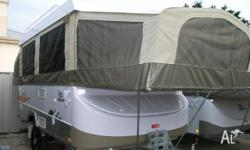 JAYCO SWAN OUTBACK, 2011, WHITE, Camper Trailer,