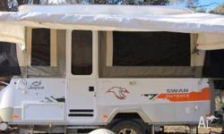 FOR SALE IS OUR 2012 OUTBACK SWAN, HAS ALL THE USUAL